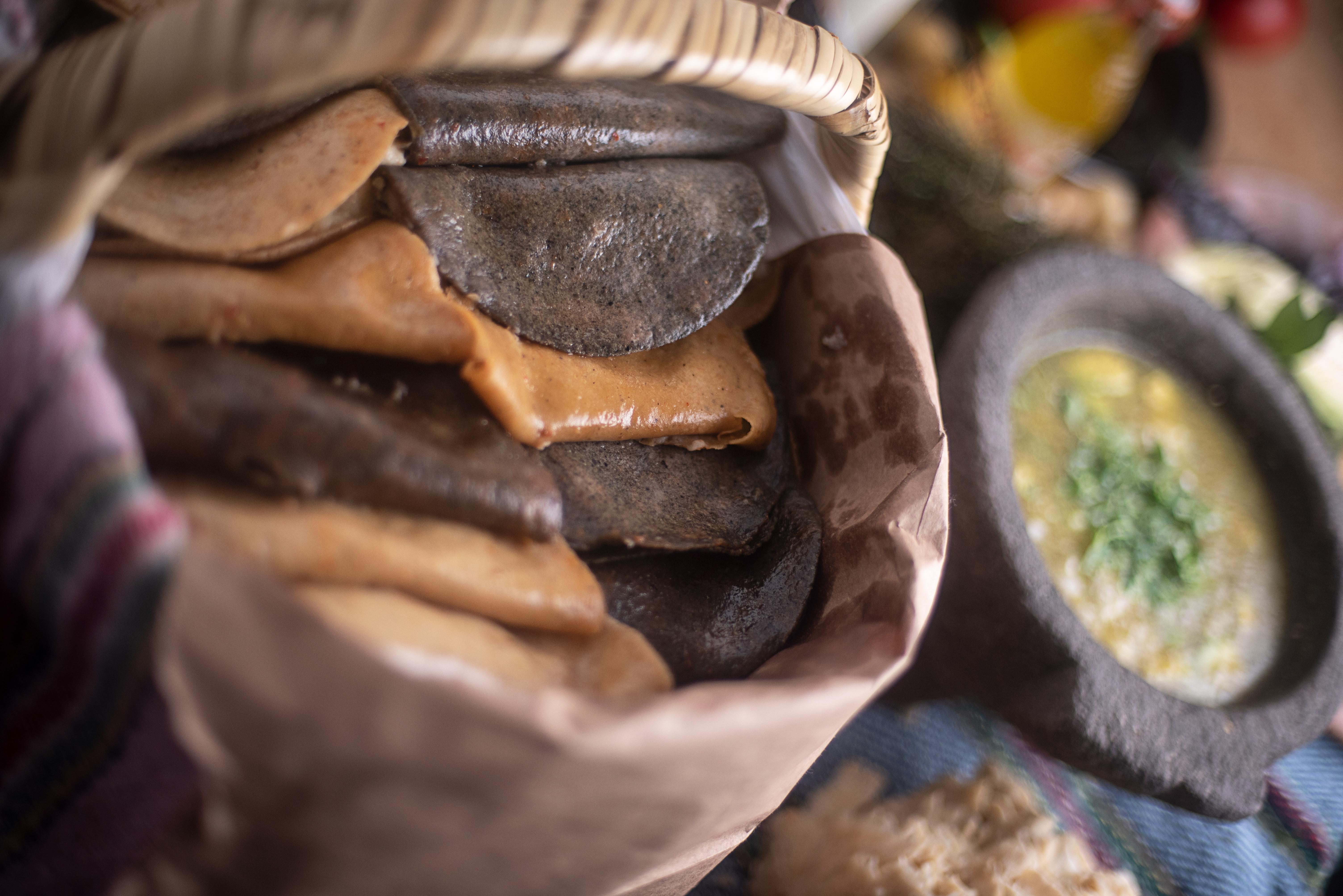 Valedores: los nuevos taquitos de canasta con toque fino