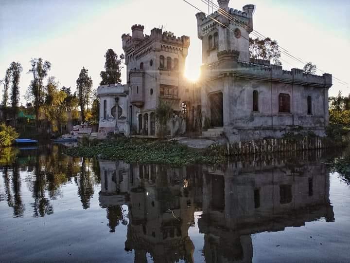 El castillo de Xochimilco y la leyenda del Ahuizotl