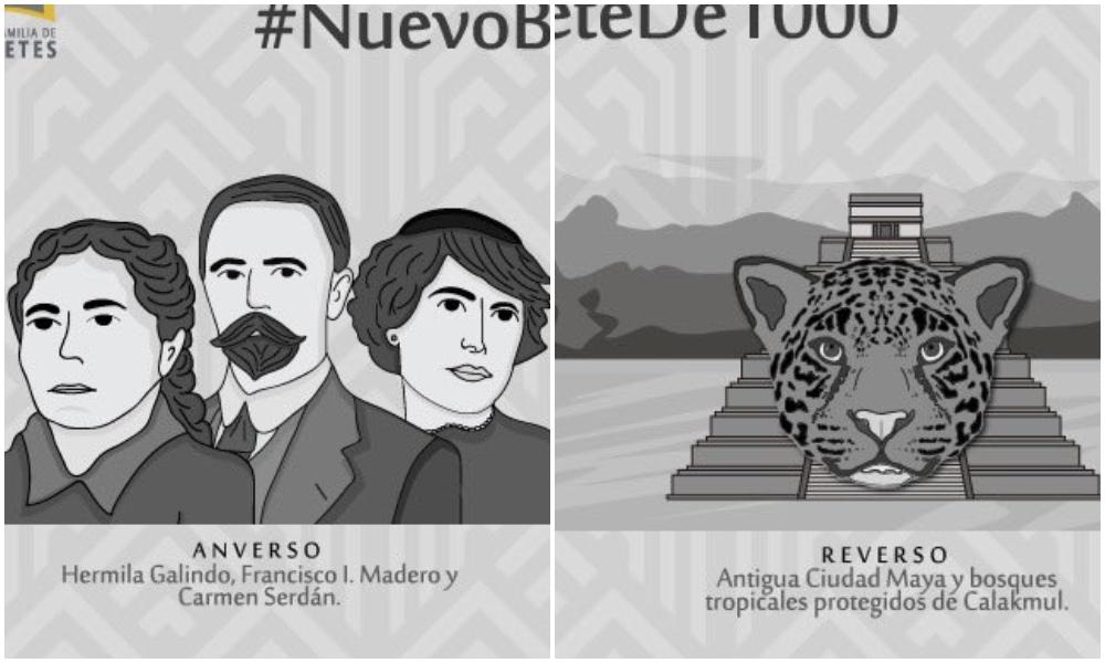 Arriba la Revolución: así será el nuevo billete de mil pesos
