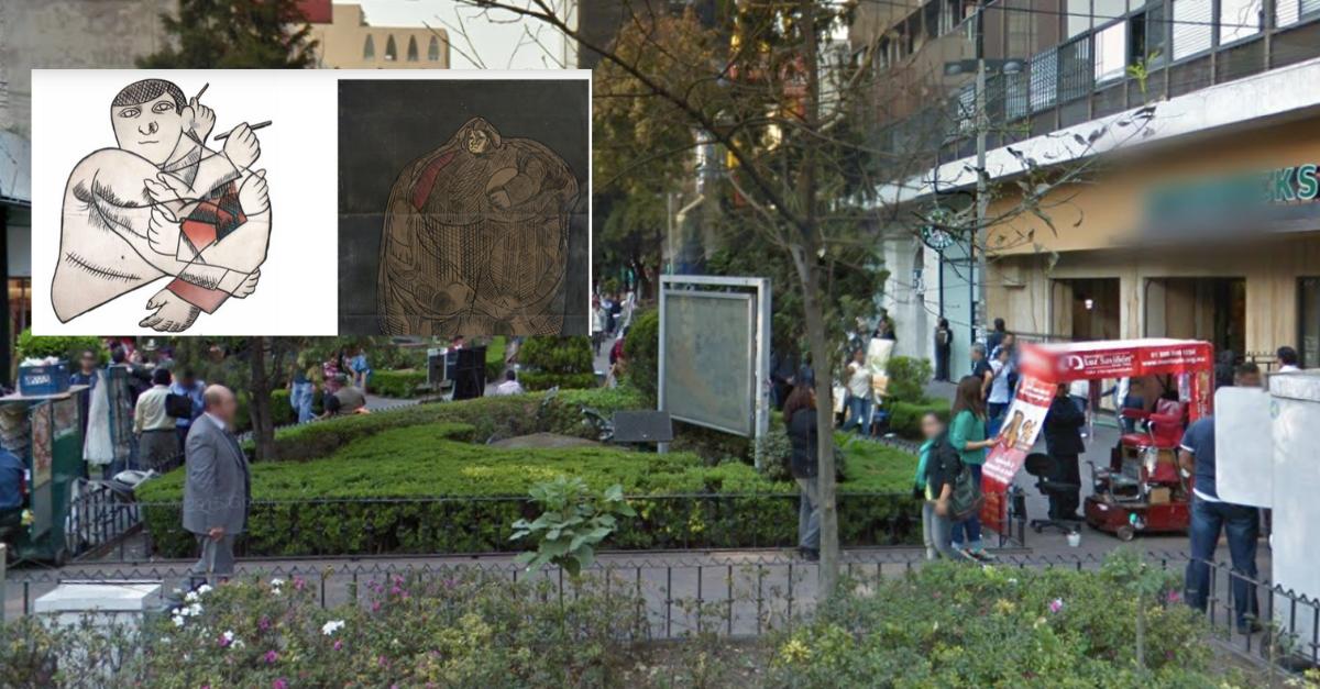 ¿Por qué se llama Zona Rosa?, ¿dónde está el Mural efímero?