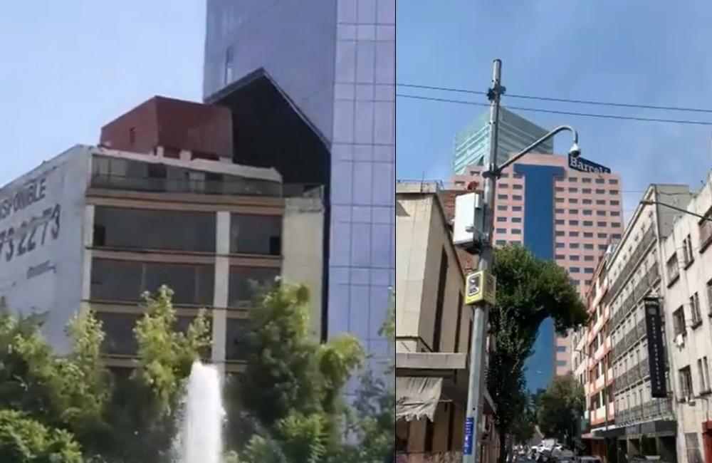 #Videos: así se sintió el sismo de este martes en la CDMX