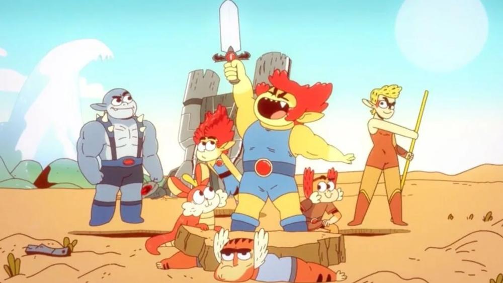 ¿León-O, eres tú? Los Thundercats regresan con nueva serie