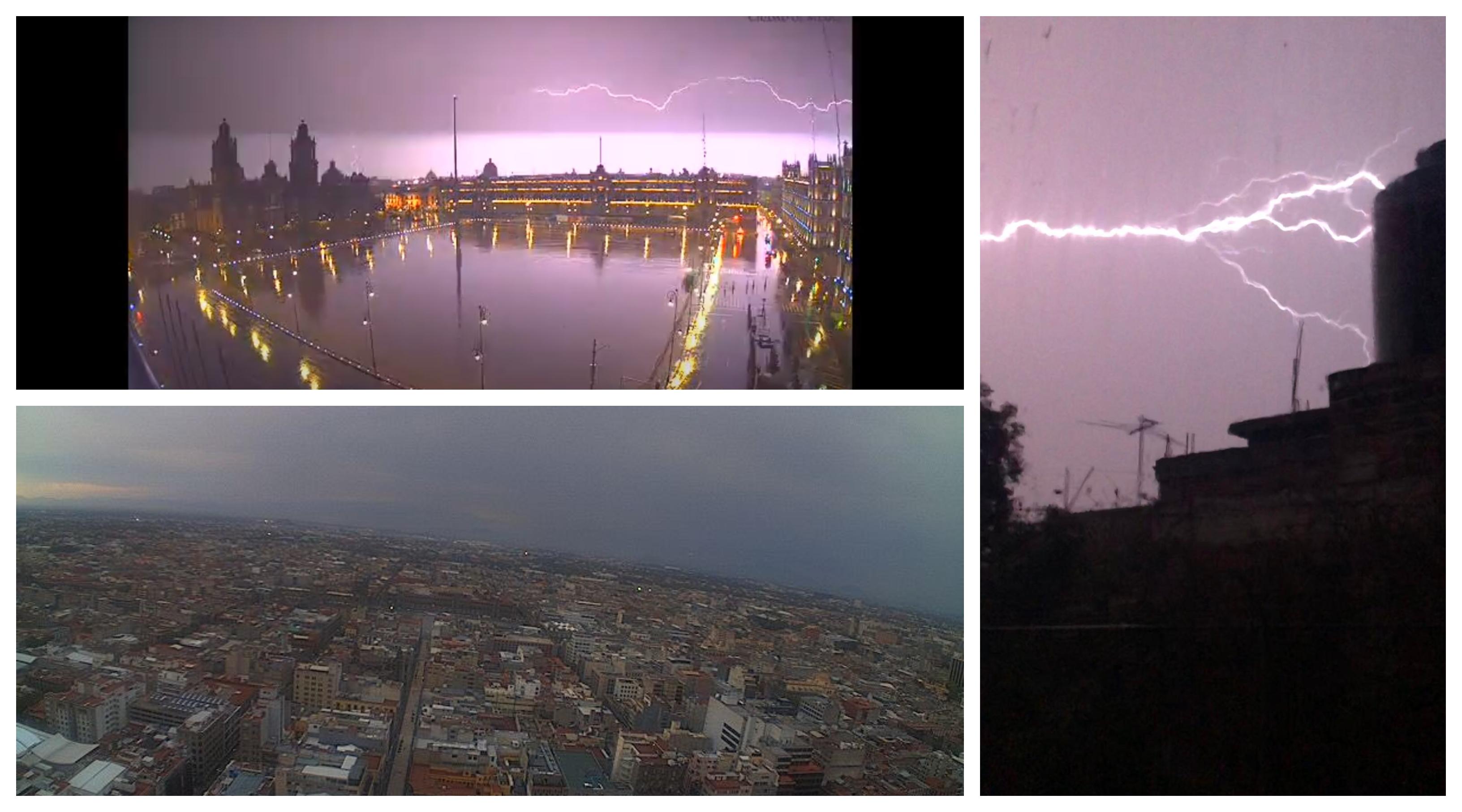 ¿Qué ocasionó la tormenta eléctrica que nos despertó hoy?