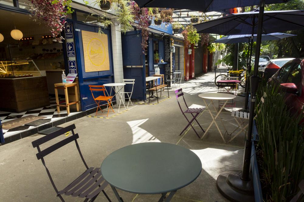 Restaurantes al aire libre en CDMX: el nuevo paisaje chilango contra el covid-19