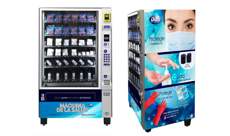 chilango - ¡El futuro es hoy! Máquinas expendedoras de cubrebocas en CDMX