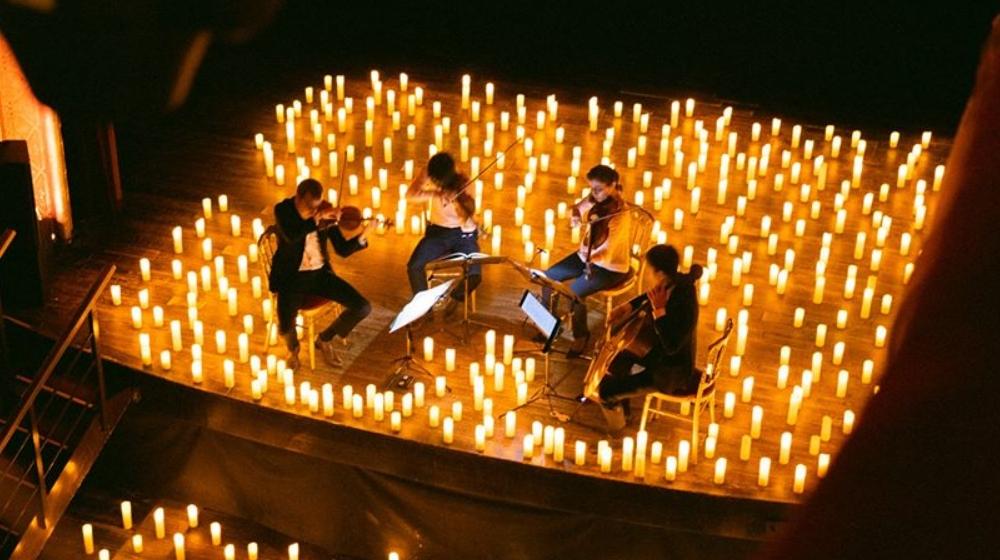 ¡Así serán los conciertos secretos y a la luz de las velas!