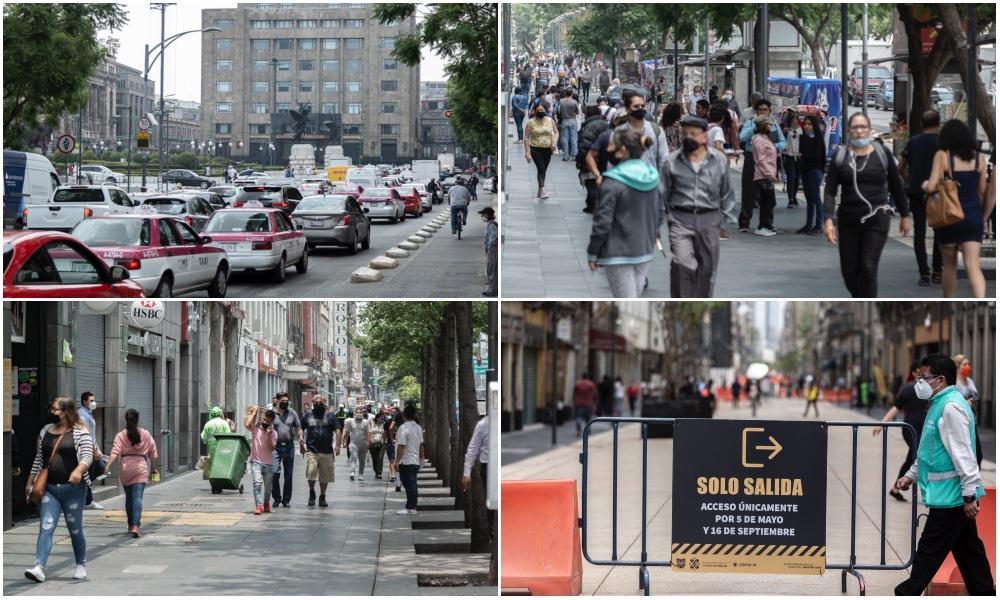#NuevaNormalidad: así fue la reapertura del Centro (fotos)