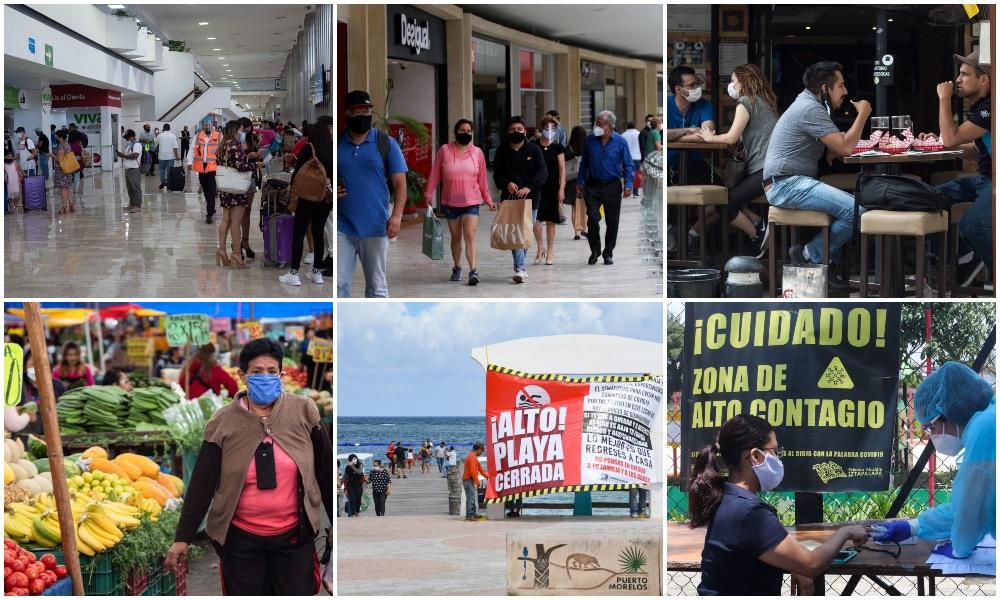 Del tianguis a la playa: dónde corres más riesgo por covid-19