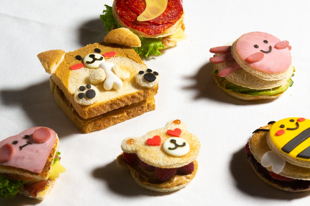 Sándwich lab: el laboratorio de emparedados kawaii 🥪✨