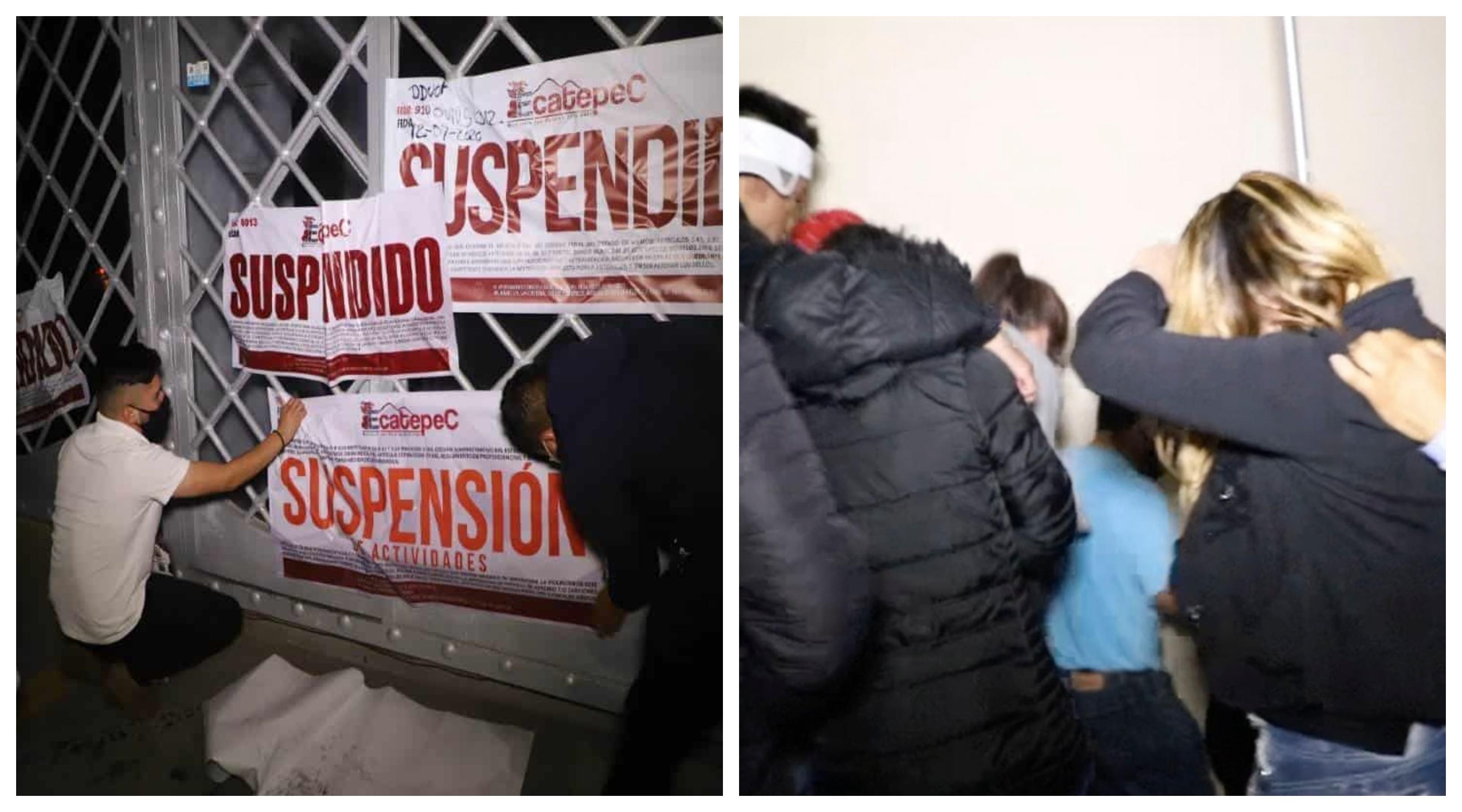 En pleno bailongo, cancelan sonidero en Ecatepec