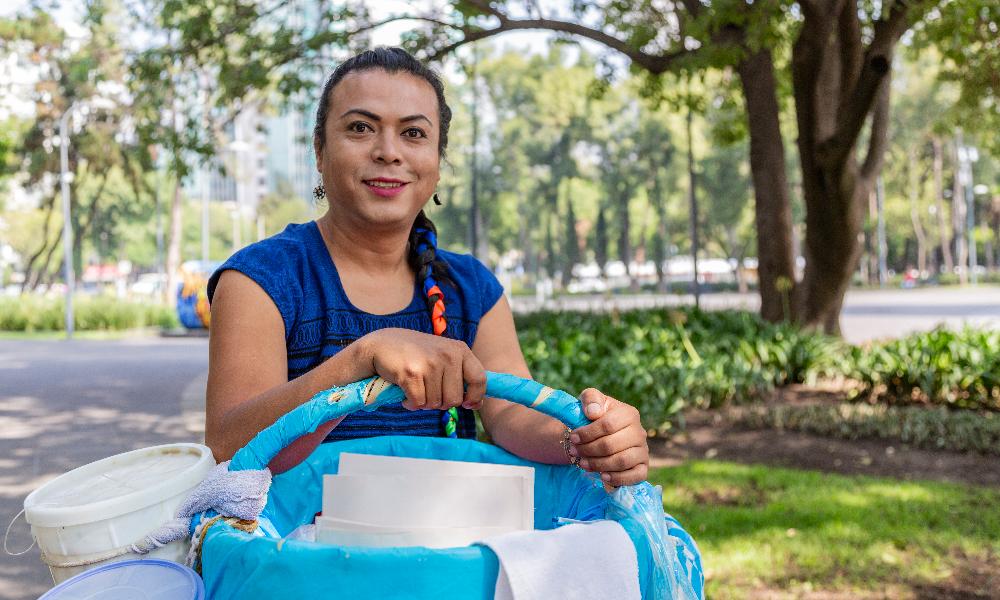 Lady Tacos de canasta tendrá un lugar fijo para vender en el centro #ConLosTacosNo