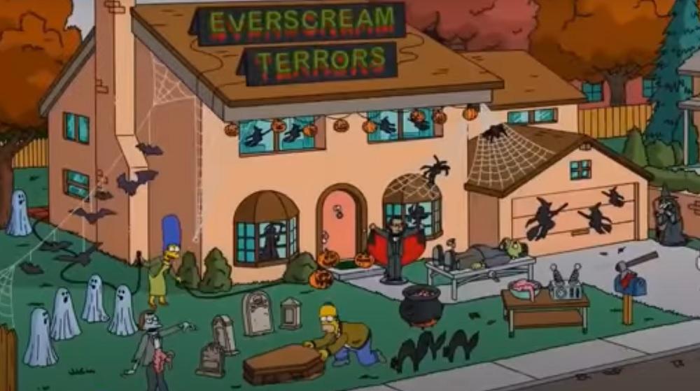 Los Simpson y su Casita del Horror llegan al Centro 👻