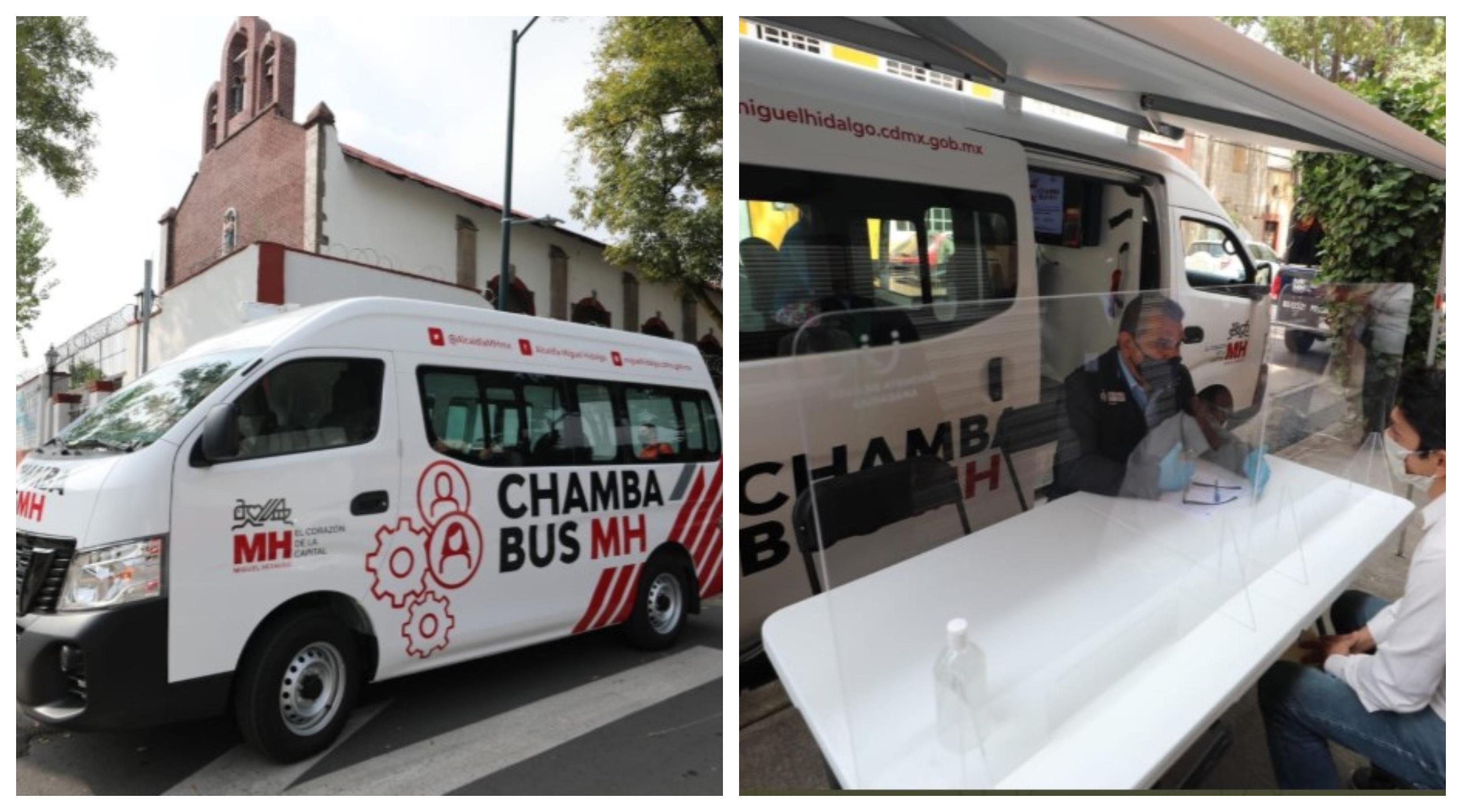 El Chamba Bus te ayuda a buscar trabajo sin salir de casa