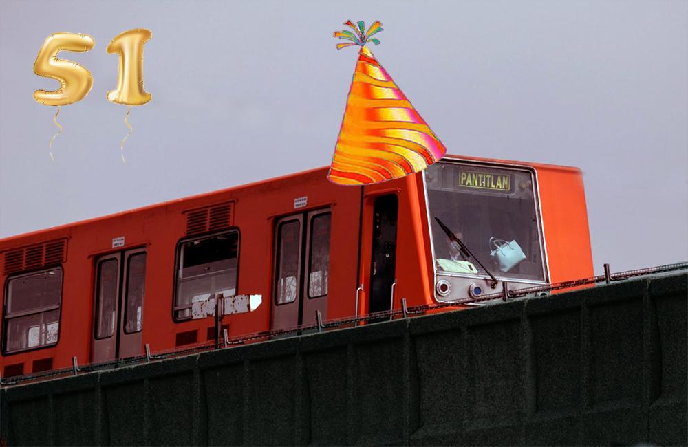 Felices 51 años: las 5 cifras más sorprendentes del Metro