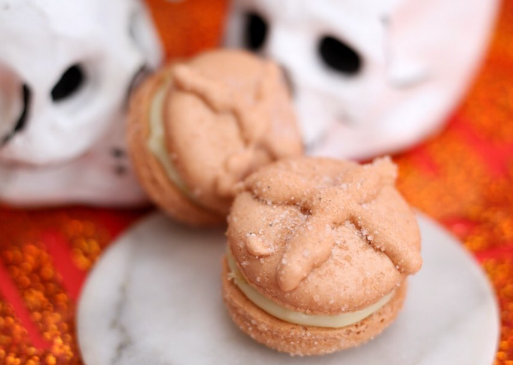 Macarrones de pan de muerto y Halloween: te decimos dónde 🎃👻