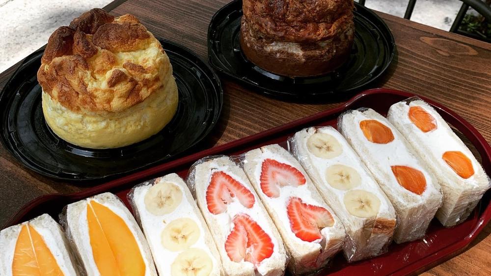 Himawari Café: cheesecake japonés, sándwiches florales y más ��
