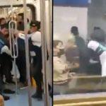 rina-en-metro-pino-suarez-deja-dos-detenidos-y-un-policia-herido