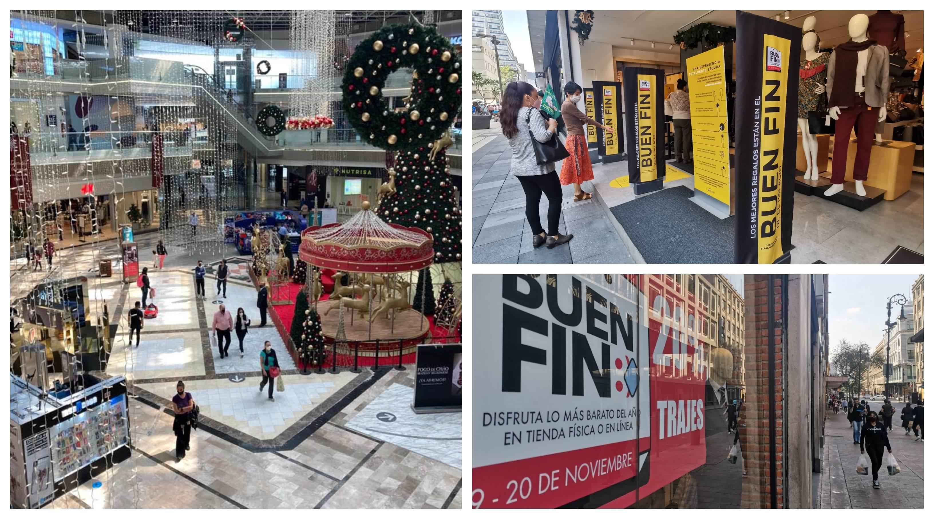 Fotos: así están los centros comerciales previo al Buen Fin