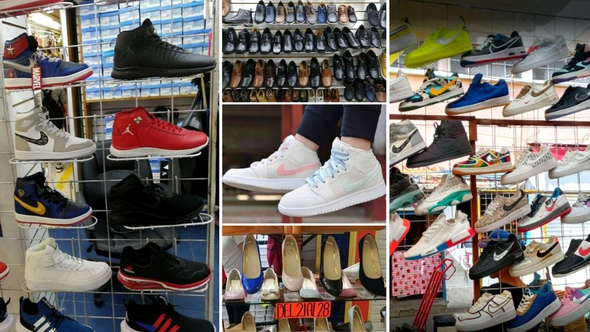 ¡Chécale, carnal! Tianguis y outlets de tenis y zapatos 👟