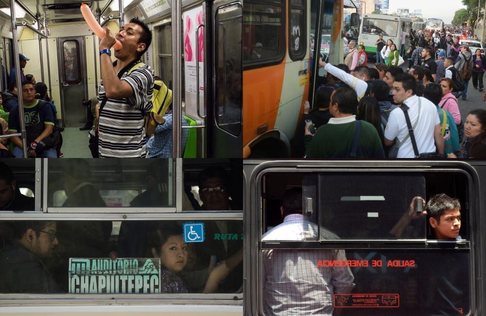 50 cosas que (seguro) te han pasado en el transporte público