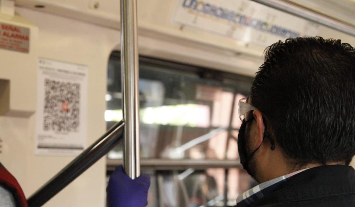 Próxima estación: alerta; así se usa el código QR en el Metro