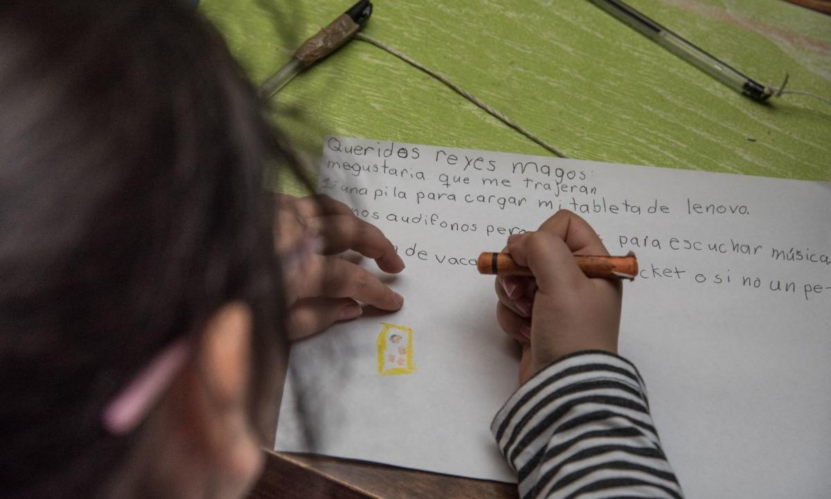 Curen a enfermos: las (esperanzadoras) cartas de niños a los Reyes