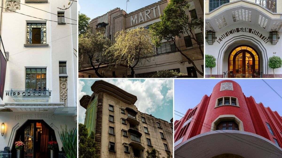 El Moro, el Ermita: Ruta de edificios art déco en la CDMX