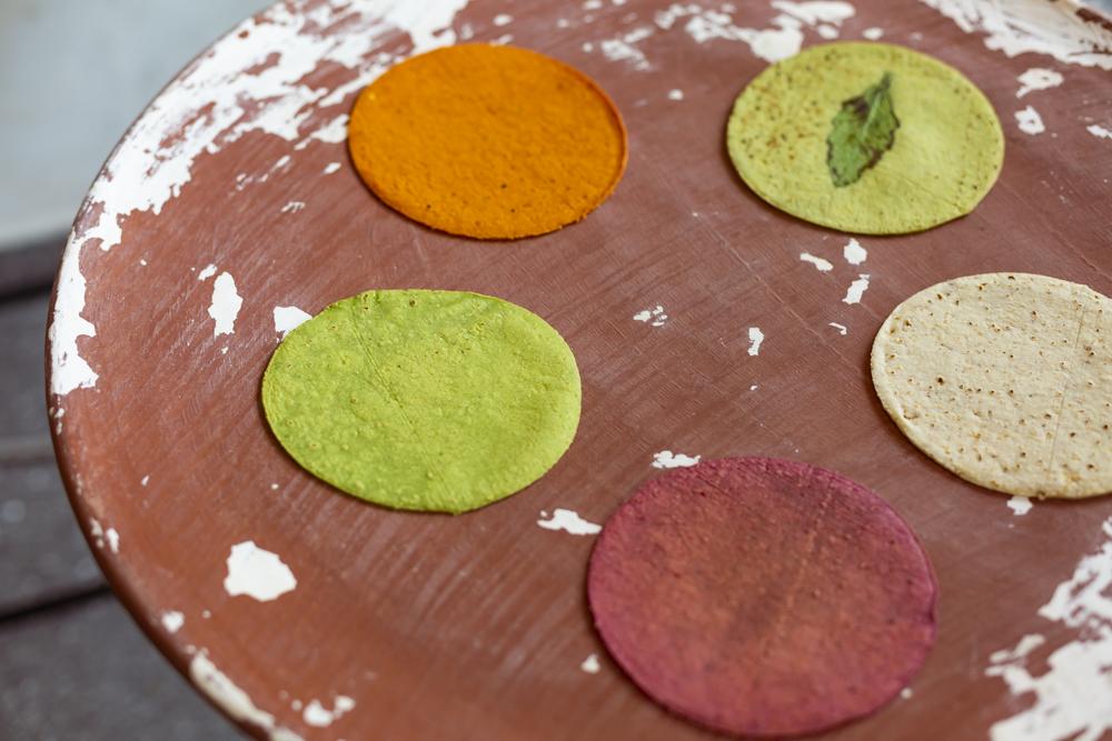 Chulada, tortillas artesanales de sabores y colores 🌈