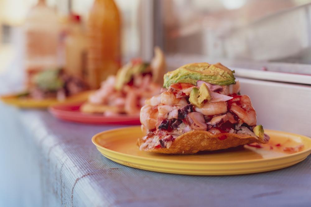 Las tostadas de mariscos más fregonas en CDMX