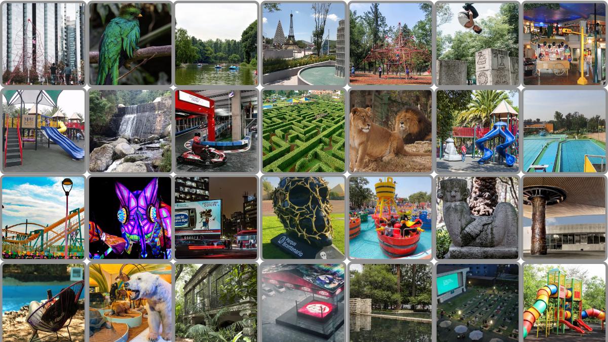 50 lugares (al aire libre) para ir con niñas y niños